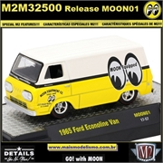 1965 - Ford Ecoline Van MOON01 - M2 Machines - 1/64