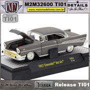 1957 - Chevrolet Bel Air Titanium - M2Machines - 1/64