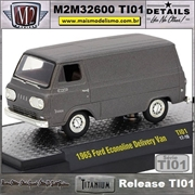1965 - Ford Ecoline Delivery Van Titanium - M2Machines - 1/64