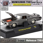 1970 - Dodge Super Bee HEMI Titanium - M2Machines - 1/64