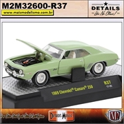 1969 - Chevrolet Camaro 250 Verde R37 - M2Machines - 1/64