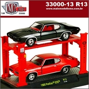 1969 - Pontiac GTO (2X) R13 - AUTO-LIFT M2 Machines - 1/64