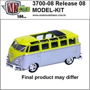 1959 - VW Microbus Deluxe USA Model - M2M MODEL-KIT - 1/64
