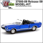 1968 - Shelby G.T.350KR R09 Azul - M2M MODEL-KIT - 1/64