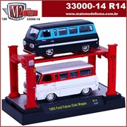 1965 - Ford FALCON Club Wagon (2X) R14 - AUTO-LIFT M2M - 1/64