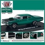 1969 - Plymouth ROAD RUNNER 440 Verde - M2M - 1/64