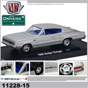 1966 - DODGE CHARGER Prata - M2M - 1/64