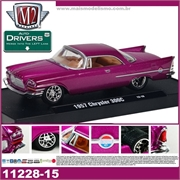 1957 - Chrysler 300C Roxo - M2M - 1/64