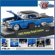 1955 - DODGE ROYAL LANCER Azul - M2M - 1/64