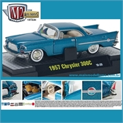 1957 - CHRYSLER 300C Azul - M2 Machines - 1/64
