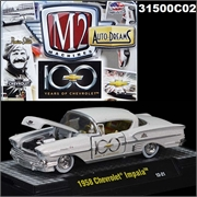 1958 - Chevrolet IMPALA 100 YEARS - M2 Auto-Dreams - 1/64