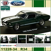 1966 - SHELBY GT350 R34 Verde - M2M - 1/64