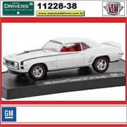 1969 - Chevrolet Camaro SS 427 Nickey R38 Branco - M2 Machines - 1/64