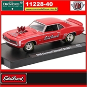 1969 - Chevrolet Camaro SS/RS EDELBROCK R40 - M2 Machines - 1/64