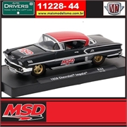 1958 - Chevrolet Impala MSD R44 - M2 Machines - 1/64