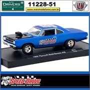 1969 - Plymouth Road Runner 440 R51 Speed Dawg - M2 Auto-Drivers - 1/64