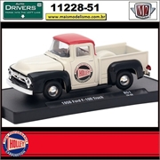 1956 - Ford F-100 Pick-up R51 Holley - M2 Auto-Drivers - 1/64