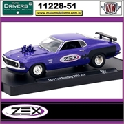 1970 - Ford Mustang BOSS 429 R51 ZEX - M2 Auto-Drivers - 1/64