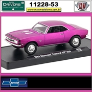 1968 - Chevrolet Camaro SS 350 R53 Satin PINK - M2 Auto-Drivers - 1/64