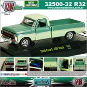 1969 - Ford F-250 Truck R32 Verde - M2M - 1/64