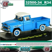 1958 - Chevrolet APACHE Step Side R34 - M2 Auto-Trucks - 1/64