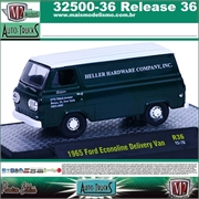 1965 - Ford ECOLINE Delivery Van R36 - M2 Auto-Trucks - 1/64
