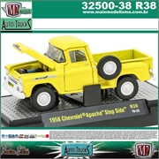 1958 - Chevrolet APACHE Step Side R38 Amarela - M2 Auto-Trucks - 1/64