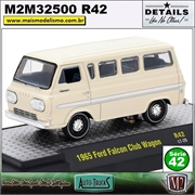 1965 - Ford Falcon Club Wagon R42 - M2 Auto-Trucks - 1/64