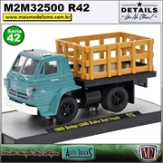 1966 - Dodge L600 Stake Bed Truck R42 - M2 Auto-Trucks - 1/64