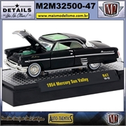 1954 - Mercury Sun Valley R47 Preto - M2 Auto-Thentics - 1/64