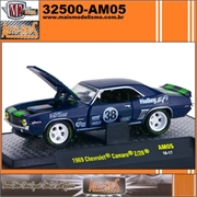 1969 - Chevrolet CAMARO Z/28 no. 38 AM05 - M2 Machines - 1/64