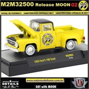 1956 - Ford F-100 Truck MOON02 - M2 Machines - 1/64