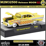 1957 - Chevrolet Bel Air MOON02 - M2 Machines - 1/64
