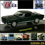 1966 - Shelby GT350 S Verde Escuro - M2M - 1/64