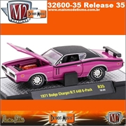 1971 - Dodge CHARGER R/T 440 6-Pack R35 Rosa - M2 Machines - 1/64