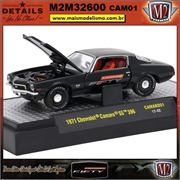 1971 - Chevrolet Camaro SS 396 CAM01 - M2Machines - 1/64