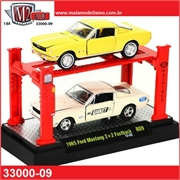 1965 - Ford MUSTANG 2 2 Fastback (2x) - AUTO-LIFT M2M - 1/64