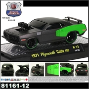 1971 - Plymouth Cuda 440 - M2 Ground Pounders - 1/64