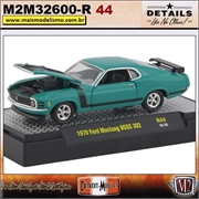 1970 - Ford Mustang BOSS 302 - Detroit Muscle R44 - 1/64