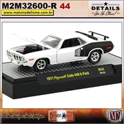 1971 - Plymouth Cuda 440 6-Pack - Detroit Muscle R44 - 1/64