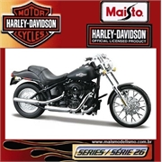 Harley-Davidson 2008 FXSTB NIGHT TRAIN - Maisto - 1/18