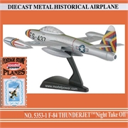 MP - F-84 THUNDERJET NIGHT TAKE OFF - Model Power