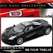 CHRYSLER ME FOUR TWELVE PRETO - Motormax - 1/24