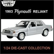 1983 - Plymouth RELIANT - Motormax - 1/24