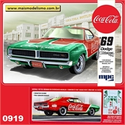 1969 - Dodge Charger R/T Coca-Cola - MPC - 1/25