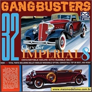 1932 - Chrysler Imperial - Gangbusters - MPC - 1/25