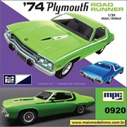 1974 - Plymouth Road Runner - MPC - 1/25