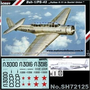 BSH-1/PS-43 Vultee V-11 in Soviet Union - MPM Special Hobby - 1/72