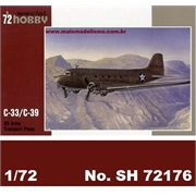 C-33 / C-39 US ARMY Transport Plane - MPM Special Hobby - 1/72