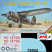 Lockheed VEGA MODEL 5 / UC-101 - MPM - 1/72